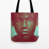 childish gambino Tote Bags featuring Gambino by NArtist_P3rhaps