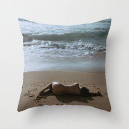 Beach Bum 3 Throw Pillow