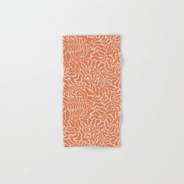 Abundance | Orange & Pink Hand & Bath Towel