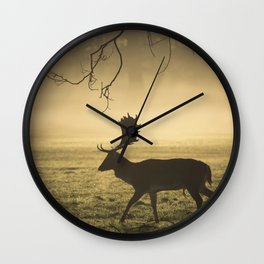 Richmond Park, Jan'16 (951) Wall Clock