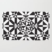 compass Area & Throw Rugs featuring Compass by Vadeco