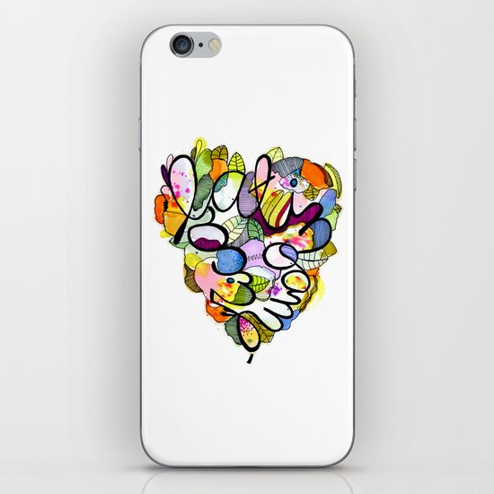 Latinoamérica LOVE iPhone & iPod Skin