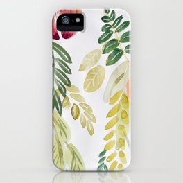 Peach Tree iPhone Case