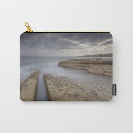 Salina, Malta Seascape Carry-All Pouch