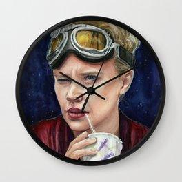 Holtzmann Ghostbusters Portrait Wall Clock