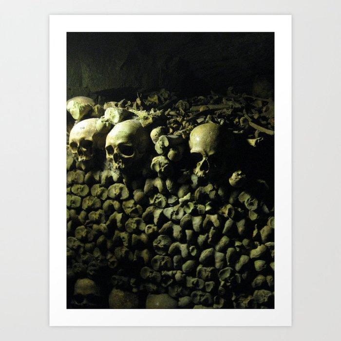 The Catacombs Art Print