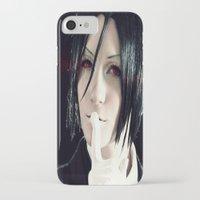 kuroshitsuji iPhone & iPod Cases featuring Sebastian by Lalasosu2
