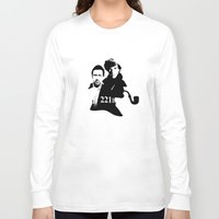 221b Long Sleeve T-shirts featuring Residents of 221B by MadTee