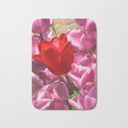 Prima Donna Among The Tulips Bath Mat