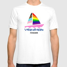 Pride 2021: I ship all Ships benefitting LAMBDA Literary T-shirt
