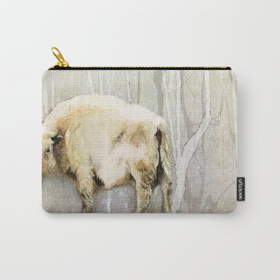 White Buffalo's Hollow Carry-All Pouch