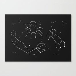 Seeing Is Believing - In The Stars Canvas Print