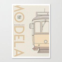 Trams of the world - Lisbon Canvas Print