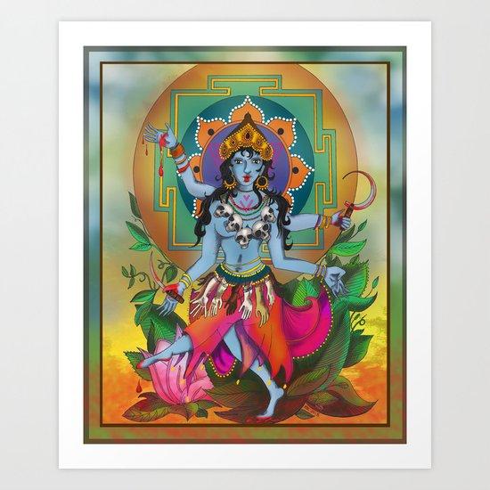 Kali, My Kali Art Print