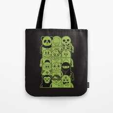 Famous Characters Tote Bag