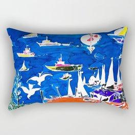The Marina, Southport, Qld. Australia                 by Kay Liptpon Rectangular Pillow