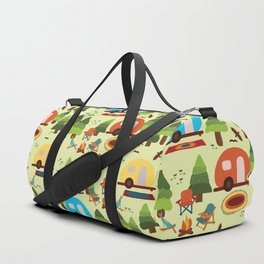 Caravan Campground Vacation Duffle Bag