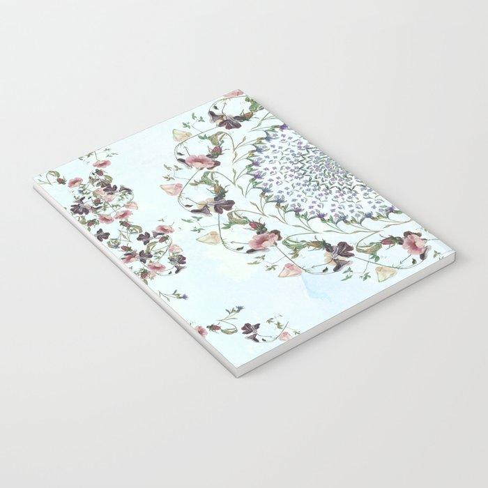 Floral fervour Notebook