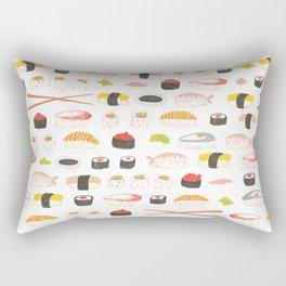 Sushi Pattern Rectangular Pillow