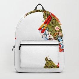 Ramen Noodle Amen - Praying Ramen Hands - True Ramen Love T-Shirt Backpack