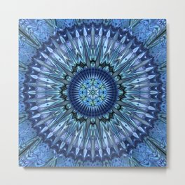 Brilliant invention to cool dear Earth - Abstract illustration Metal Print