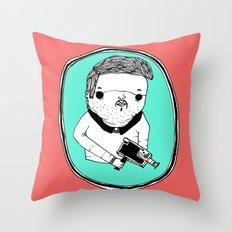 Filmer Man Throw Pillow