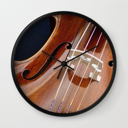 Cello Admiration Wall Clock