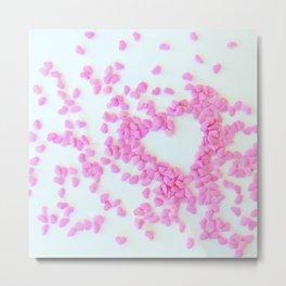 hearts on hearts Metal Print