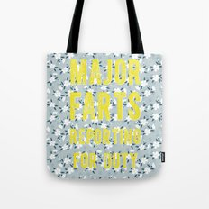 Major Farts Tote Bag