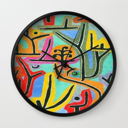 Paul Klee Park Near Lu Wall Clock