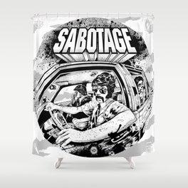 Sabotage Shower Curtain