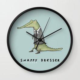 Snappy Dresser Wall Clock
