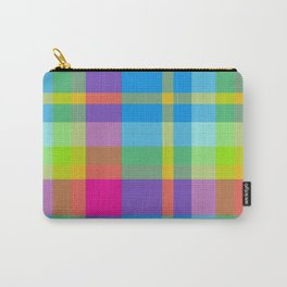 Summer Plaid 3 Carry-All Pouch
