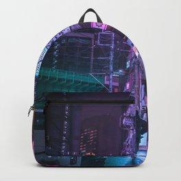 Cyberpunk Neo Tokyo Backpack