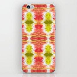 Color Wash Aztec Rug iPhone Skin
