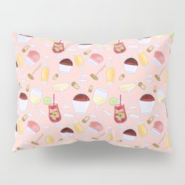 Happy Wine Pattern Pillow Sham