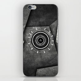 Abstract Circle Of Zelda iPhone Skin