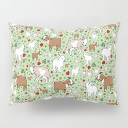 Happy Goats Pillow Sham