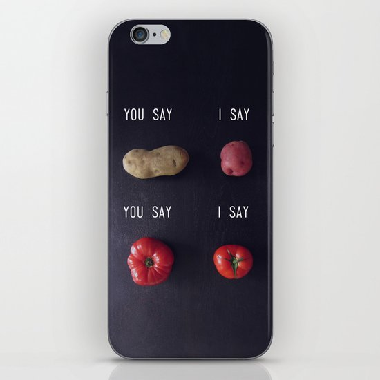 Let's Call the Whole Thing Off iPhone & iPod Skin