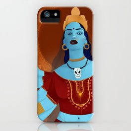 kali, the destroyer iPhone Case
