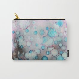 Underwater world. Abstract alcohol ink Carry-All Pouch