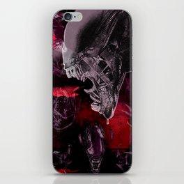 """Alien Xenomorph """"Xenomorphobia"""" iPhone Skin"""
