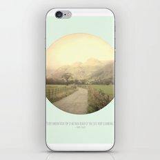 Mountain Tops iPhone & iPod Skin