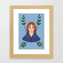 Magical Cloak Framed Art Print