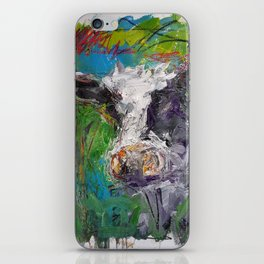 Cow Boe 1 iPhone Skin