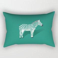 Animal Kingdom: Zebra III Rectangular Pillow