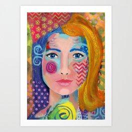 """Multi-faceted"" Art Print"