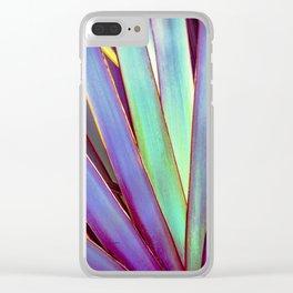 Fiesta Palm Clear iPhone Case