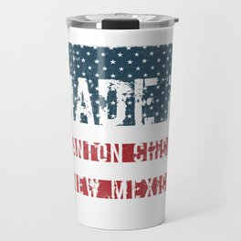 Made in Anton Chico, New Mexico Travel Mug