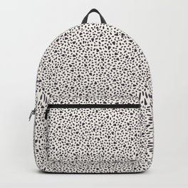 Seamless vector pattern overlay. Tiny hand drawn irregular speckles shapes. Backpack